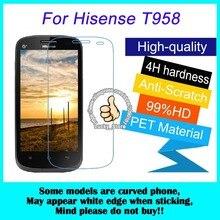 3 шт. Для Hisense T958 Высокая Ясный Протектор Экрана для Hisense U8 Глянцевый Экран Защитная Пленка