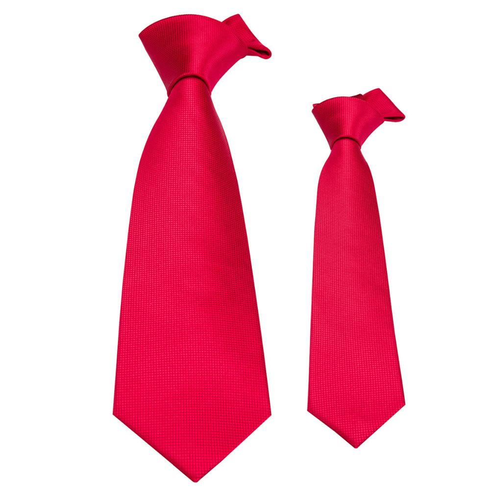 Bekleidung Zubehör Wang Jacquard Woven Kid Krawatte Rot Seide Krawatten Für Männer Hochzeit Party Fc-206 Schrumpffrei Neue Herren Krawatte Jungen Krawatte 100% Seide Barry