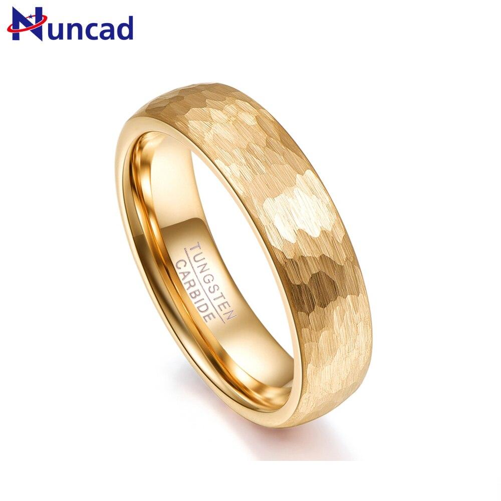 Nuncad Vatertagsgeschenk Ringe Männer Glod Ringe 2,3 Mm Dicke Hartmetall Ringe Für Frauen Hochzeit Finger Jewely T070r Nachfrage üBer Dem Angebot Verlobungsringe