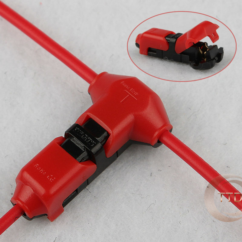 Superb 5Pcs Scotch Lock Quick Splice Wire Connectors Terminals Crimp Wiring Digital Resources Llinedefiancerspsorg