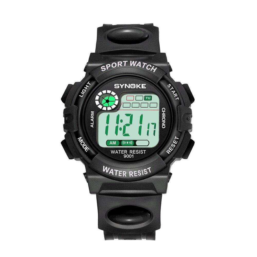 Multi-Color Kid Watches LED Digital Double Action Watch портивн ч Relogio Infantil Reloj Nio Reloj Nia Montre Enfant Montre