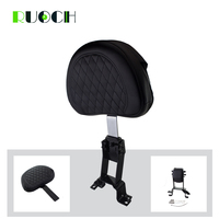 Motorcycle Driver Backrest Pad w/ Mounting Kit Riding Sissy Bar for Indian Chieftain 2014 2016 2015 Roadmaster Chief Vintage