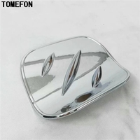 For Toyota C HR CHR 2017 2018 Car Chrome Styling ABS Chrome Tank Cover External Oil