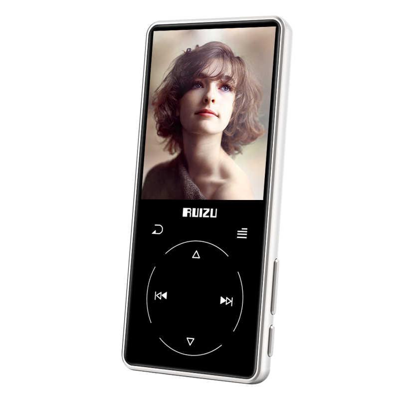 RUIZU D16 Bluetooth MP4 プレーヤー 2.4 インチスクリーン FM ラジオボイスレコーダー電子書籍ポータブルオーディオビデオプレーヤーエージェント bulit インスピーカー