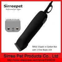45 W heben duty pet clipper mit 1 feinen klinge 10 # in karton box