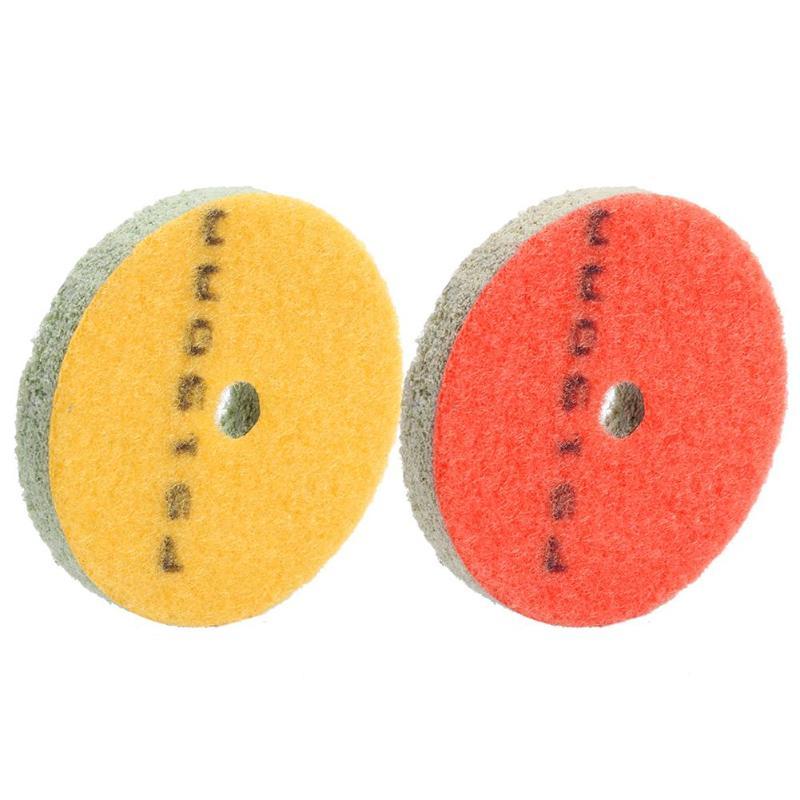 3 Inch Sponge Granite Polishing Pad Stone Wet Useing Stone Buff Granite Marble Polishing Pads Wheel Abrasive Tool