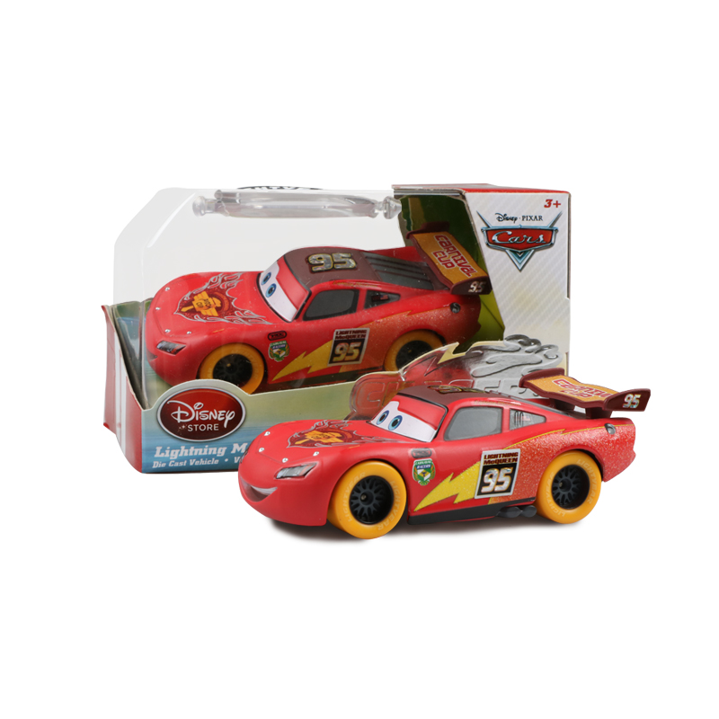 Big Size Disney Pixar Cars 2 3 Lightning McQueen 1:150 Diecast Vehicle Metal Alloy Boy Kid Toys Christmas Gift