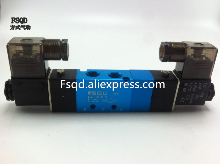 4V230-08 FSQD solenoid valve Quality type electromagnetic valve pneumatic component air tools sy3320 5lzd m5 smc solenoid valve electromagnetic valve pneumatic component air valves