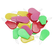 hot deal buy 2016 20pcs/lot plastic needle threader sewing machine thread guide device wire stitch insert craft tools accessories