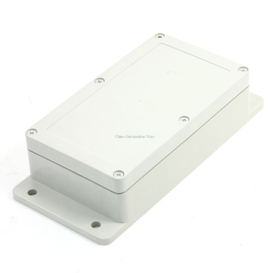 IMC Hot 158mmx90mmx46mm Waterproof Plastic Enclosure Case Power Junction Box white waterproof plastic enclosure box electric power junction case 158mmx90mmx46mm with 6pcs screws