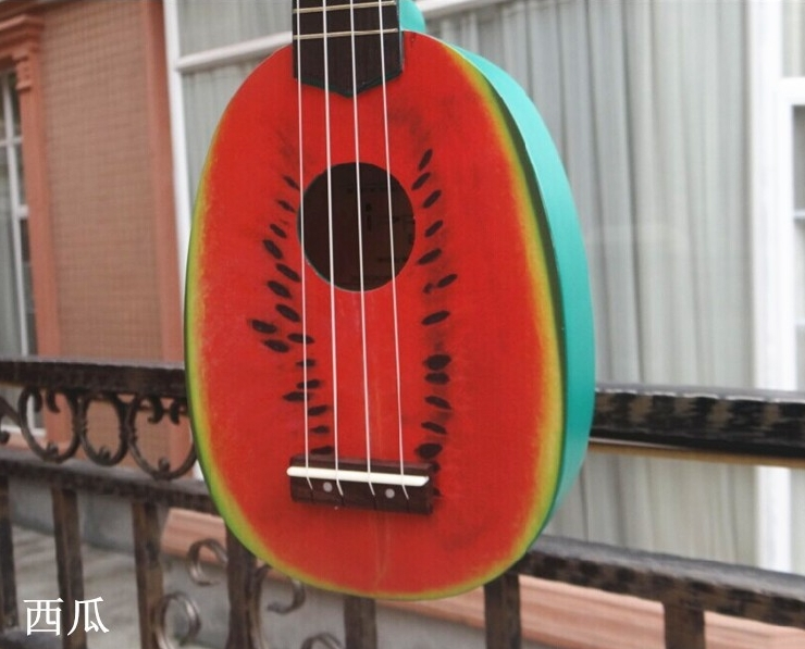 21 Ukulele Acoustic guitar U21-3 Rosewood Fretboard 4-strings Watermelon guitarra musical instruments Wholesale hot 36 acoustic guitar 36 6 guitarra musical instruments with guitar strings