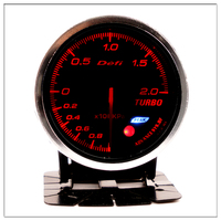 Defi Boost Gauge for honda city civic 1999 2001 2005 2006 2008 ek accord 7 2008 Auto Boost Pointer turbo pressure Meter 60mm
