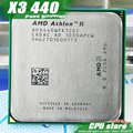 AMD Athlon II  X3 440 CPU Processor Triple-Core (3.0Ghz/ L2=2M /95W / 2000GHz) Socket am3 am2+ free shipping 938 pin sell X3 445