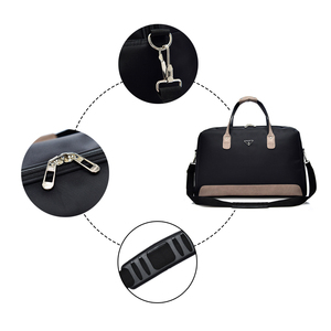 Image 3 - Wobagパッチワーク革の男性はバッグ防水オックスフォード女性旅行バッグ大容量のトートバッグ荷物ショルダーバッグ