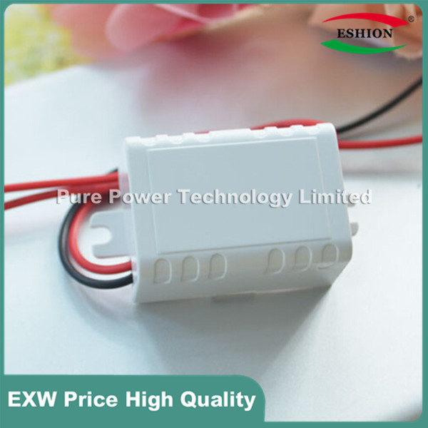 White Case 90~240V 110/220V AC to 12V Step Down DC Converter LED Switching Power Supply module With the white connector