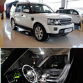 18pcs LED Bulb Interior Lights Package Kit For landrover discover4 2013 2014 2015 car styling
