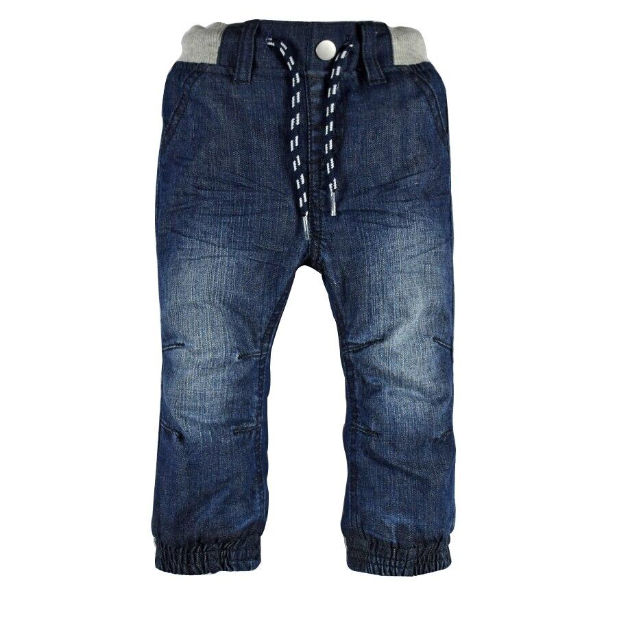 Infant Baby Boys&Girls Double Layers Jeans Newborn Bebe Denim Harem Pants Jersey Layer Elastic Waist Kids Children Trousers Warm