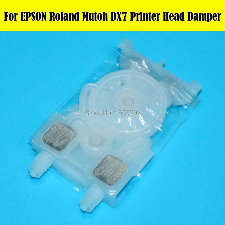 10 PCS/Lot DX7 Printer Head ECO Solvent Ink Damper For Roland VS420 VS540 VS640 VS300 For Mutoh 1618 1614 Printer pa 1000ds printer ink damper for roland rs640 sj1045ex sj1000 mutoh rh2 vj1604 more