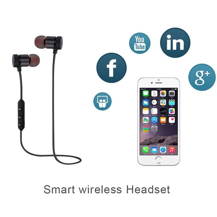 Sports Running Earbuds Wireless Auriculares Bass Headsets for Doogee Shoot 1 2 fone de ouvido