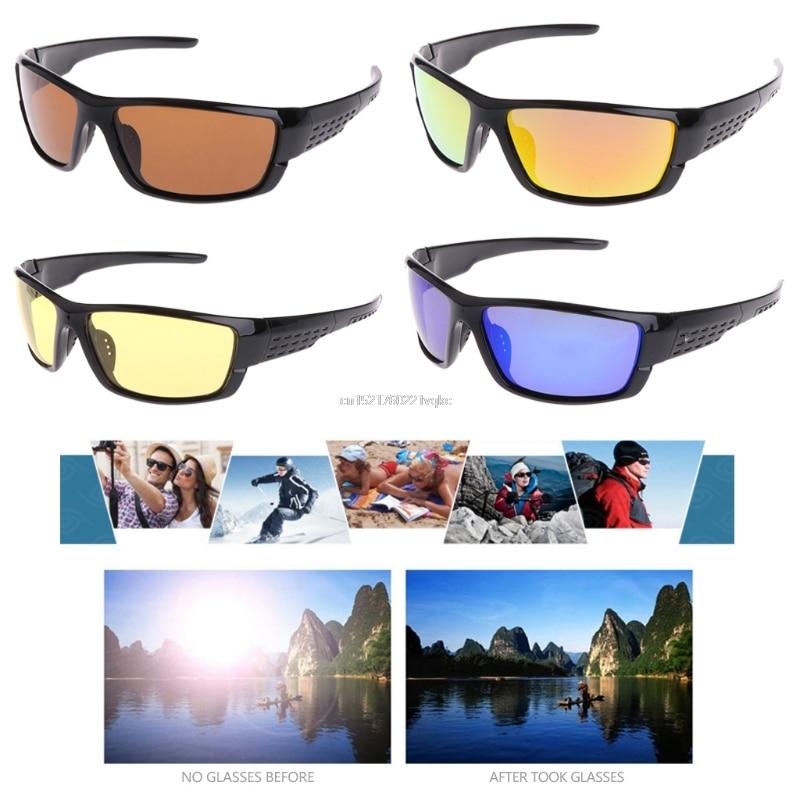 Fishing Cycling Polarized Glasses Outdoor Sunglasses Sport Eyewear Goggles UV400