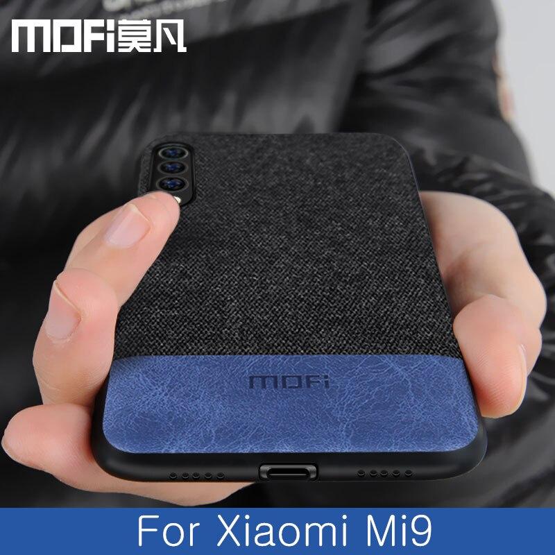 Für Xiao mi mi 9 fall abdeckung globale zurück abdeckung silikon schutzhülle stoff tuch stoßfest fällen capas MOFi original mi 9 SE fall