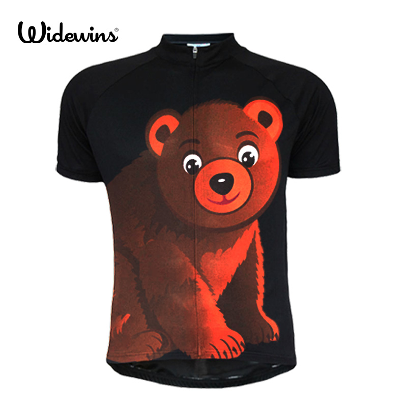 Black Bear 2017 New Quick Dry Breathable Cycling Jersey For Men Short Sleeve Bicycle Clothing Cycling Shirt 5124