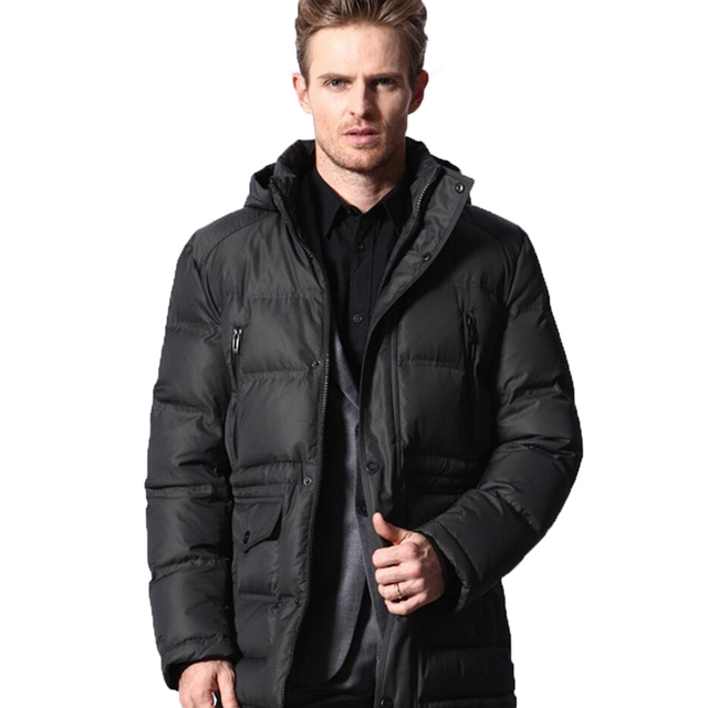 2016 Winter Men Jacket Warm-coat Thick Duck Down Coat Male Snow Jackets Chaqueta Hommbre Thick Jackets Father's Clothing