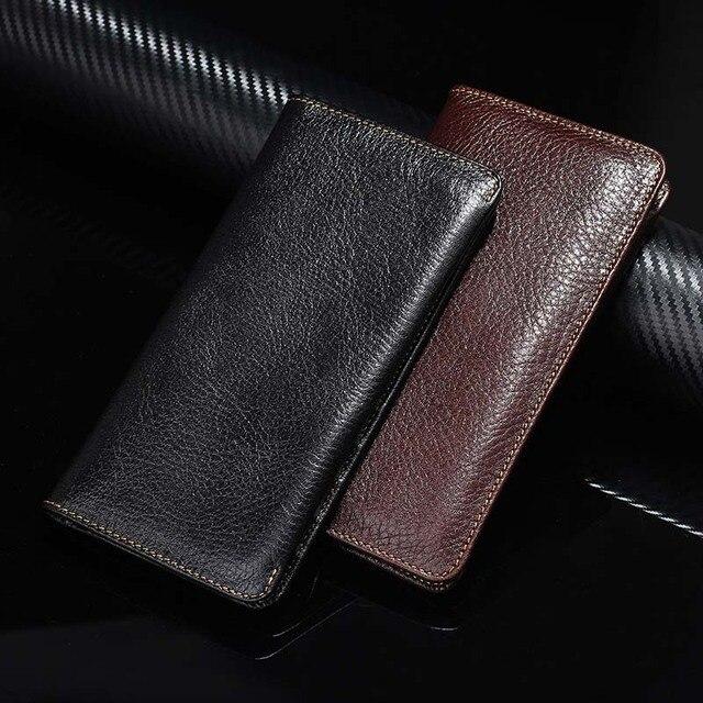Casos de luxo para samsung galaxy s7 edge caso carteira para galaxy note 7 bolsa bolsa de couro genuíno para iphone 7 & mais tampa articulada