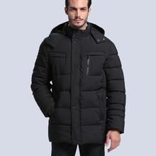 Men Winter Jacket Snow Hooded Warm Coats Down Parkas New 2017 Men Thick Long Solid Men Winter Jackets coat Brand down jacket 3XL