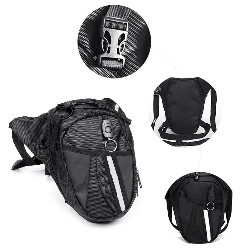 Oxford Nylon Bag Leg Drop Motorcycle Waist Pack Unisex Fanny Thigh Belt Bike Bags