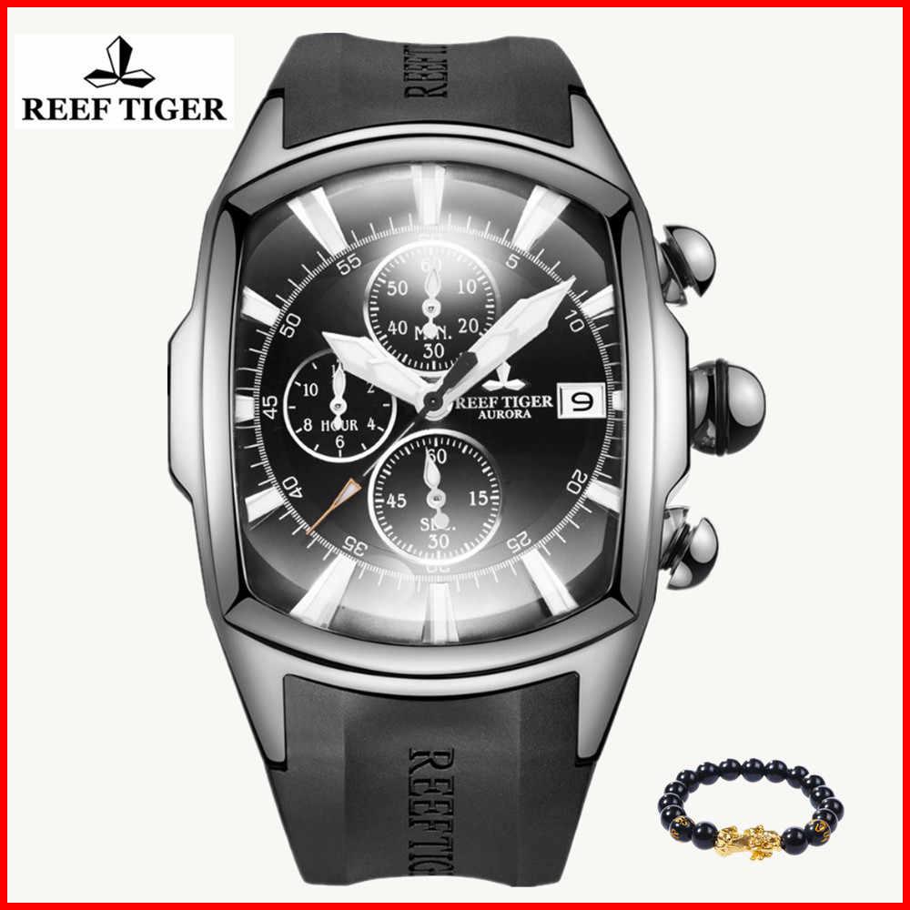2019 שונית טייגר/RT למעלה מותג Mens יוקרה ספורט שעונים Reloj Hombre הכרונוגרף עמיד למים קוורץ שעון גברים Relogio Masculino