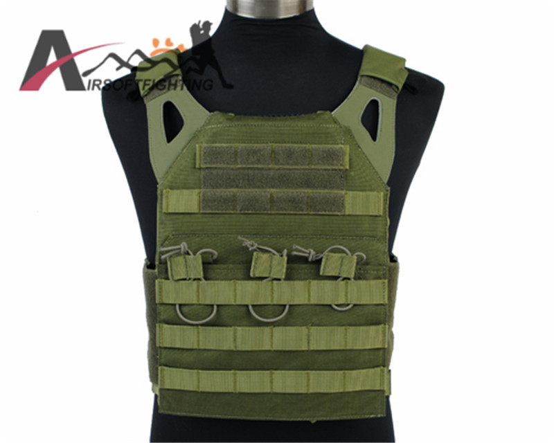 Emerson 1000D Nylon Tactical Plate Carrier Vest Outdoor Hunting Military JPC Vest Simplified Version Airsoft Combat Gear military tactical plate carrier ammo chest rig jpc vest airsoftsports paintball gear body armor simplified version vest for men
