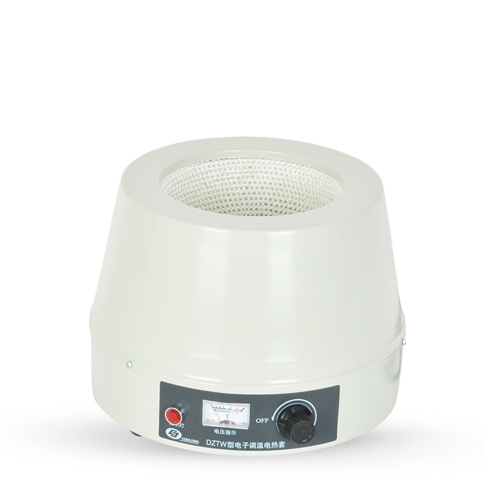 DZTW-1000 1000ml,220V,400W Electric Heating Mantle Sleeves Pointer Type Max Temperature 380C, Laboratory Heating Equipments 1000ml 400w lab electric heating mantle with thermal regulator adjustable equip