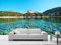 Göl özelleştirmek 3D HD Avrupa Modern Duvarlar Için Duvar Kağıdı Yatak Odası Için Duvar Kağıdı 3D Duvar Arka Plan