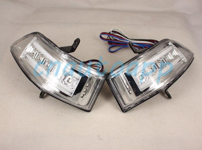 Rétroviseur de voiture LED clignotants latéraux lampe de marche pour HONDA CRV 2007-2011