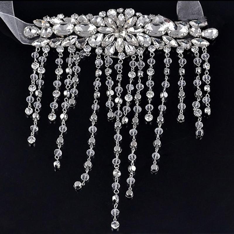 Nya brudarmband Waterdrop Style Chains Crystal Armband Smycken - Märkessmycken - Foto 2