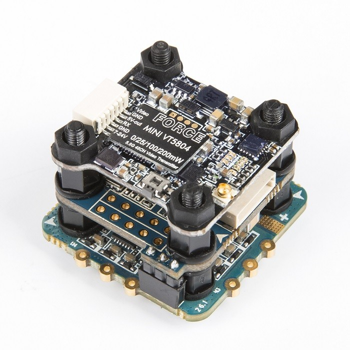 Mini Revobee32 Tower F4 32K VTX FPV Flight Controller IPeaka 18A Dshot 4-in-1 ESC Force 5.8G 48CH 25/100/200mW Switchable TX original emax f4 magnum all in one fpv stack tower system f4 osd 4 in 1 blheli s 30a esc vtx frsky xm rx