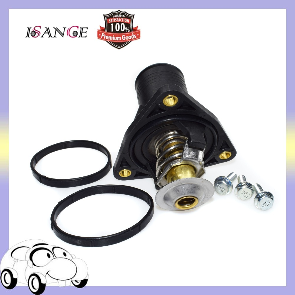 isance engine coolant thermostat assembly for jaguar x type 3 0l v6 [ 1000 x 1000 Pixel ]