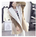 New Jacket Women Fashion Spring Slim Coat Windbreaker Thick cashmere hooded coat in Long Jacket Women Outwear Women's Clothing