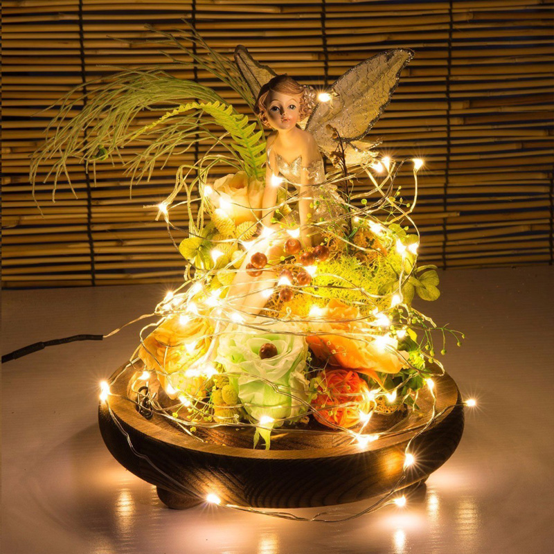 LED String 2/3/5M Home Decoration Battery Powered For Indoor Lighting Fairy Festival Party Chirstmas Wedding Decor