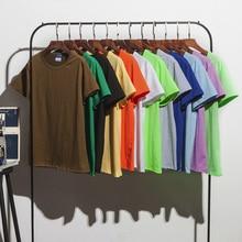 цены на 2019 New Solid Color T Shirt Mens Black And White 100% Cotton T-Shirts 12 Colors Summer Skateboard Tee Boy Skate Tshirt Tops в интернет-магазинах