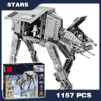 1157pcs Space Wars Universe New 05051 AT AT DIY Model Building Blocks Tank Robots Toys Boys Gifts Bricks Compatible with Lego