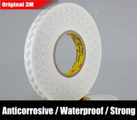 Original 0 3mm Thick 3M White Waterproof Double Coated Adheisve Tape PVC Film Tape For Iphone