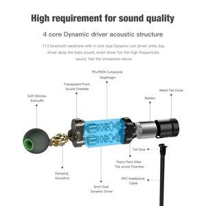 Image 3 - AWEI T13 Bluetooth אוזניות כפולה נהג אלחוטי אוזניות Hi Fi סטריאו קול אוזניות אוזניות עם מיקרופון Fone דה ouvido עבור טלפון