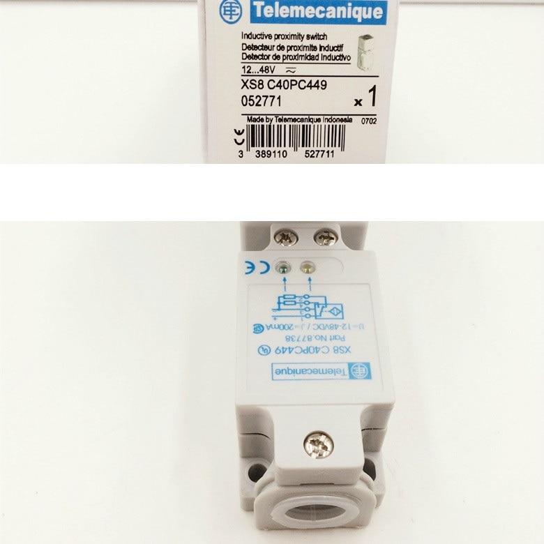 Détecteur de proximité Schneider s XS8-C40PC449 de haute qualité