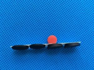 Image 3 - 4 pz/set Nuovo Piedini In Gomma per Lenovo ThinkPad X1 Carbonio Gen 2 3 MT: 20A7 20A8 20BS 20BT Base Inferiore della Copertura Del Piede con TrackPoint