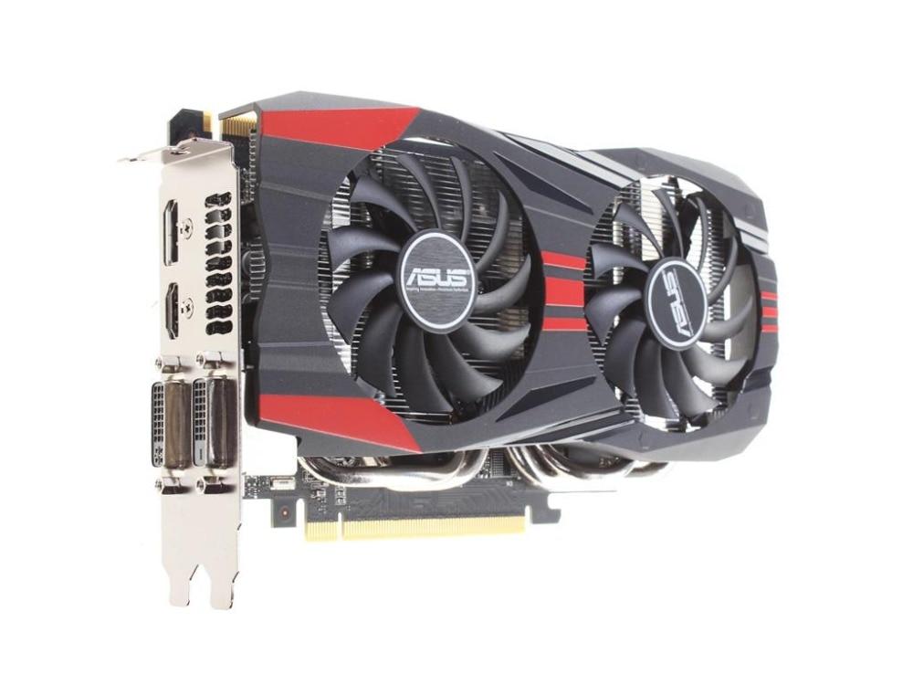 Used,ASUS GTX 760 2GB 256Bit GDDR5 Video Cards for nVIDIA VGA Cards Geforce GTX760 HDMI DVI 3