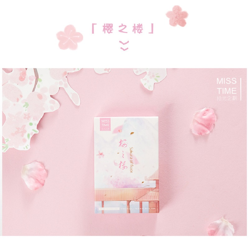 28 Sheets/Set Novelty Sakura Of Floor Lomo Card Mini Postcard Message Card Gift Greeting Card