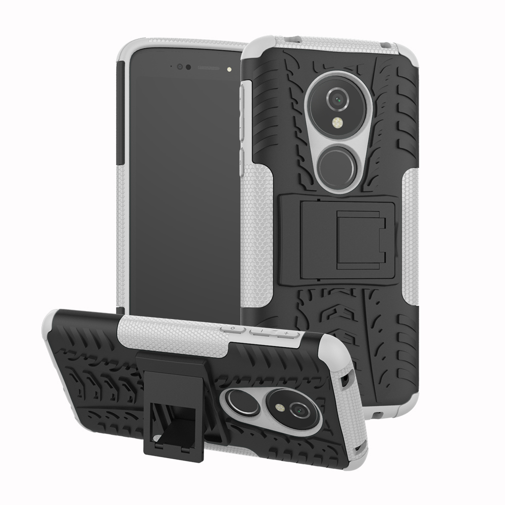 For Motorola Moto E5 Case Rubber Anti-Knock Heavy Duty Armor Hybrid Protective Mobile Phone Cover Coque For Moto E5 Plus