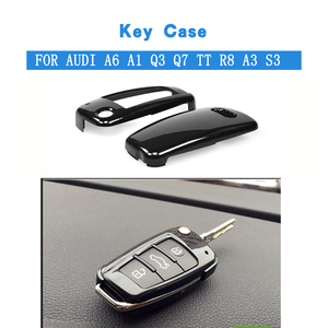 Abs Afstandsbediening Auto Sleutel Shell Cap Protection Cover Key Case Voor Auto Voor Audi A6 A1 Q3 Q7 Tt R8 a3 S3 Auto Accessoires(China)
